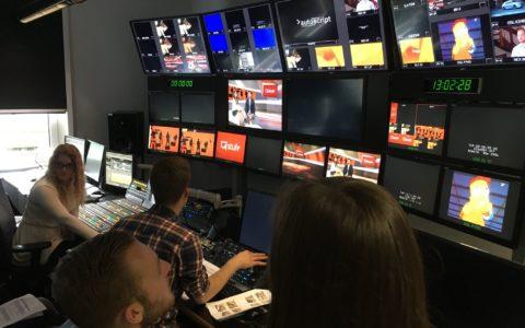 Liveproduktion in den ProSieben Studios